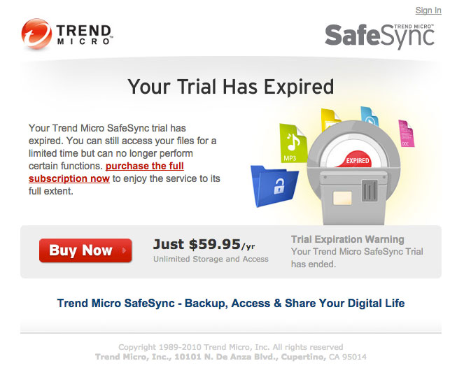 Trend Micro Trial